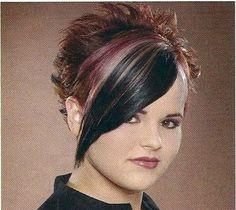 Short Spikey Hair for Women | Spiky Punk Short Hairstyle - Hairstyles: Spiky Punk Short Hairstyle