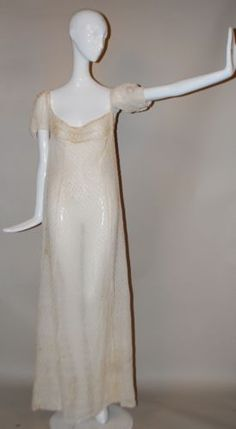1800-1810 raised dot gown. Jamiexmas ebay