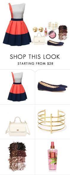 """""""Untitled #187"""" by elliephant7890 ❤ liked on Polyvore featuring Chloé, Dolce&Gabbana, BauXo, LORAC and Eddie Borgo"""