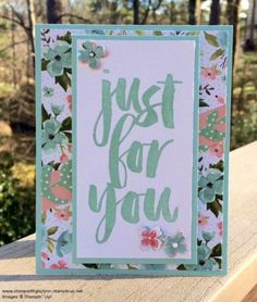 Pals Paper Crafting Card Ideas Birthday Bouquet Mary Fish Stampin Pretty StampinUp