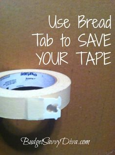 Save Your Tape | Budget Savvy Diva