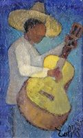 Le guitariste by Louis Toffoli
