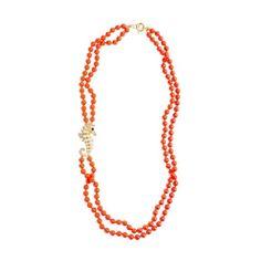 Jcrew Double-Strand Seahorse Necklace