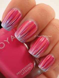 Sine I personally don't like pink, I would just our too try that out in a blue, brown, or even yellow tone!