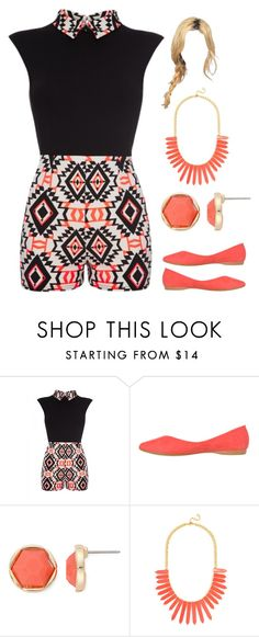 """""""Untitled #2860"""" by sarah-michelle-steed ❤ liked on Polyvore featuring Monet and BaubleBar"""