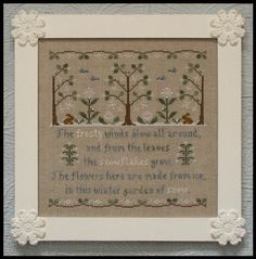 Garden of Snow - Country Cottage Needleworks