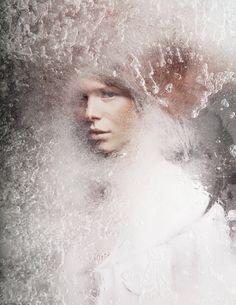 Frozen Woman Portraits by Isabelle Chapuis – Fubiz Media
