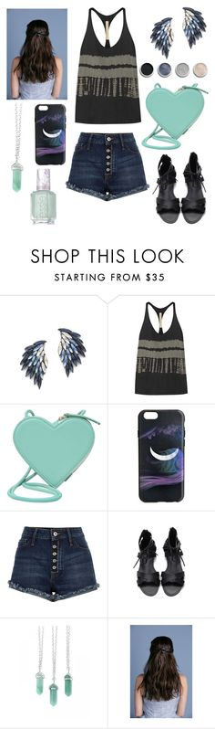"""""""Untitled #188"""" by diamonds610 ❤ liked on Polyvore featuring Juliet & Company, Raquel Allegra, Christopher Kane, Marc by Marc Jacobs, Terre Mère and Essie"""