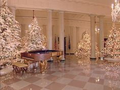 White House Christmas Through the Years: A Presidential Photo Album | White House Christmas 2014 | HGTV