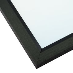 """ArtToFrames Custom Picture Poster Frame Black Stain on 0.825/"""" Wide Wood"""