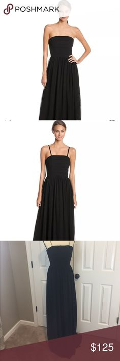 NWT Erin Fetherston Black Formal Evening Gown This dress is stunning! I hate to let this one go but it's not my size 😩 the pictures do not do it justice! It is brand new with tags. Wear it Strapless or with straps. Perfect for any formal event! Regular price is $275. Size 4. Again it is beautiful! Pet free and smoke free home. Please check out my other listings. Thanks! ERIN by Erin Fetherston Dresses Wedding