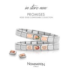 Composable Collection | Nomination Italy #nominationitaly #bracelet #composable #rosegold