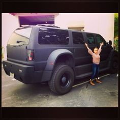 Hayden Panettiere: I know I'm small, but COME ON! I think this should be my new ride.