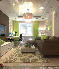 дизайн узкого зала в квартире фото: 26 тыс изображений найдено в Яндекс.Картинках