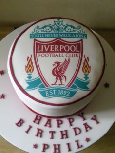 Discover recipes, home ideas, style inspiration and other ideas to try. Liverpool Cake, Liverpool Football Club, Other Recipes, Cake Designs, Cake Recipes, Cake Decorating, Football Cakes, Baking, Desserts