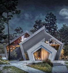 Today's Architectural Inspiration 👌 Like if you love the design! Comment below your thoughts on this unique work PC: Futuristic Architecture, Amazing Architecture, Interior Architecture, Post Modern Architecture, Rendering Architecture, Architecture Building Design, Architecture Diagrams, Classical Architecture, Design Exterior