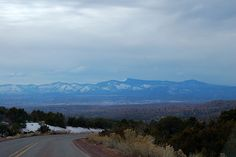 the High Road from Taos to Santa Fe. I can't wait to take this route!
