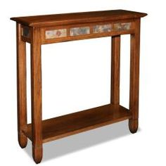 @Overstock - Favorite Finds Rustic Oak Hall Stand - Enrich your home with this rustic oak hall stand, featuring a large display shelf and underbeveled top. This table looks fantastic, and it's design is very compatible for halls and rooms around the house.  http://www.overstock.com/Home-Garden/Favorite-Finds-Rustic-Oak-Hall-Stand/6483861/product.html?CID=214117 $126.34