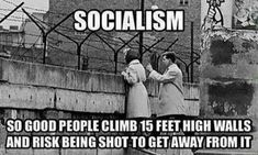 The Next Time Liberals Say 'Socialism,' Show Them THIS Meme By Brittany Soares