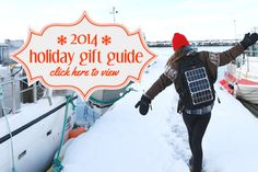 It's that time of year again... Check out our 2014 Holiday Gift Guide for ideas to keep your loved ones solar powered in 2015 #voltaic #solar #holiday #giftguide