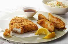 Easy bake fish and chips