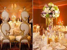 Gorgeous wedding decor from @yannidesign!  ((Melanie + Lyndon)) Musical & Magical Day at the Bolingbrook Golf Club | Sassy Chicago Weddings
