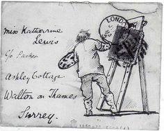 Edward Burne-Jones - Envelope