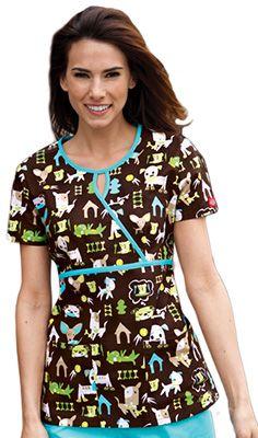 When I graduate I will wear cute scrubs like this