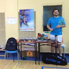 DEMO DAY KING! Maxime Petit-Tremblay is set to hold the WORLD RECORD for the most Li-Ning Demo Days held in one year! He is the first person in North America to hold a demo day this badminton season and is hosting 4 back to back sessions in the Montreal, Quebec area this week! AWESOME WORK Maxime! #MakeTheChange!