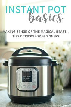 Learn How to work your Instant Pot along with lots of tips and tricks to get you cooking in no time! You will LOVE your Instant Pot!