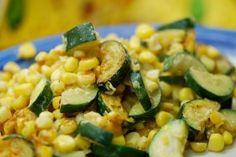 Calabacitias (New Mexican zucchini and corn dish)