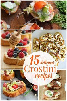 15 Crostini Recipes