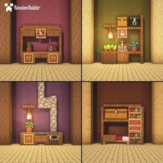 Minecraft Cottage, Easy Minecraft Houses, Minecraft House Tutorials, Minecraft Room, Minecraft House Designs, Minecraft Decorations, Amazing Minecraft, Minecraft Blueprints, Minecraft Creations