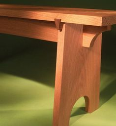 Sliding Dovetail Bench Super-strong router joints give it elegant simplicity. By Tim Johnson This elegant bench has humble origins: Its forebears have been sat upon, stepped on and dragged about for centuries. Utilitarian ancestry is readily apparent in our bench. It features simple construction and strong interlocking joints.  The pieces fit together like a puzzle, with sliding dovetails and half-lap joints. Sliding dovetails may sound difficult, but I'll show you …