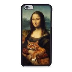 Monalisa With Grumpy Cat Unique Case available for Iphone 4/5S/5C/6/6+,Samsung Galaxy S3/S4/S5/S6 Edge, and HTC One M 7/8 ! on daizzystuff.com/ FREE SHIPPING grab it fast..!