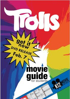 What is the best movie of 2017 for students? Trolls is now available on DVD and Amazon!