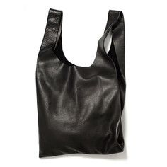 Leather Baggu Black, $160, now featured on Fab.
