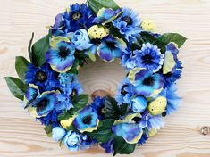 Easter wreath, Easter decoration, table decoration for home, interior decoration, center - piece for table easter, dining rooms, home decor