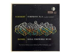 Erik Nitsche record album design 1952. Schubert by NewDocuments, $48.00