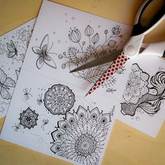 Coloring Postcard Instant Download!