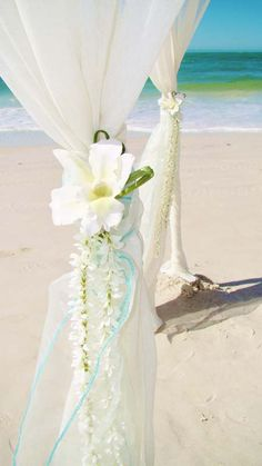 #jasmine #white wedding #aqua beach canopy