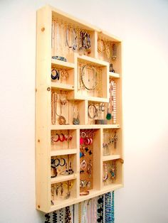 Jewelry Organizer Large Do It Yourself Kit by barbwireandbarnwood, $98.00
