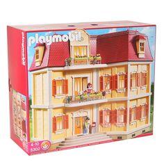 PLAYMOBIL 5302 Maison de ville - Achat / Vente univers miniature - Cadeaux de Noël Cdiscount