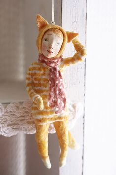 """МК """"Ватные игрушки. Дети в костюмах зверей"""" выходные - Ярмарка Мастеров - ручная работа, handmade"""