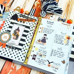 Halloween planner ideas! Have fun & decorate..