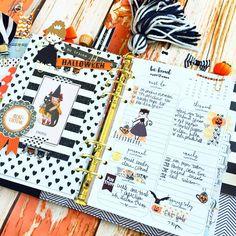 Halloween planner ideas! Have fun & decorate..