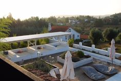 A Roof View in Portugal on the Keri Lincoln Primal Yoga Retreat
