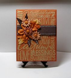A quick post with my Clean and Simple card for the SCS Challenge to use the faux letterpress technique by embossing a cuttlebug folder. I li...
