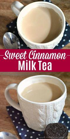 Fruit Drinks, Smoothie Drinks, Yummy Drinks, Healthy Drinks, Tea Drinks, Smoothies, Beverages, Cocktails, Hot Milk Tea Recipe
