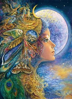 Fantasy Paintings by Josephine Wall
